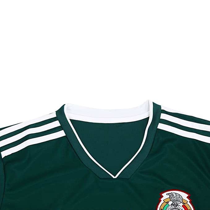 Amazon.com: Mexico Mens Soccer Jersey/Camiseta Replica National Soccer Team Jersey Color Green. Russia World Cup 2018: Clothing