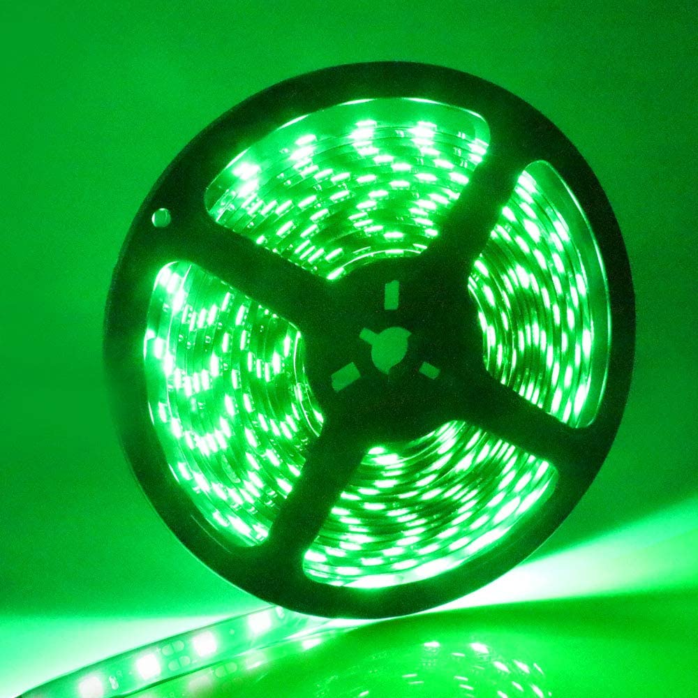 GREEN LED STRIPS*** Car Flexible 36 SMD Light bulb water proof 12V strips 2 ***