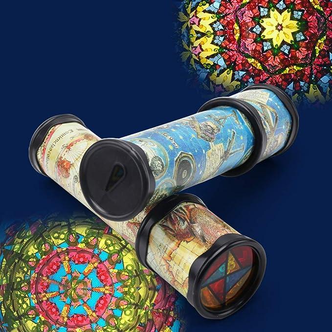 LEVEL GREAT Scalabile Rotazione Kaleidoscope Magia mutevole Regolabile Fantasia Colorata Phantoscope Magia mutevole phantoscope Bambini Giocattoli