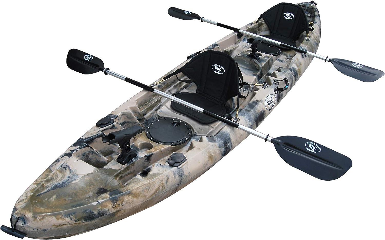 BKC UH-TK181 12.5ft Sit On Top Tandem Fishing Kayak