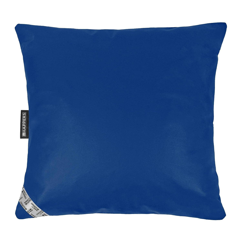 HAPPERS Cojin 60x60 Polipiel Outdoor Azul