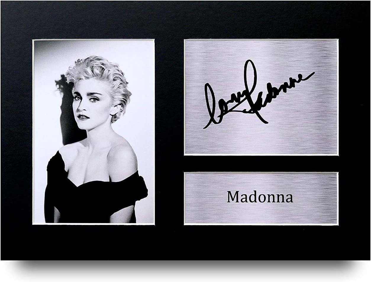 HWC Trading Madonna Gift Signed A4 Printed Autograph Music Gifts Print Photo Picture Display