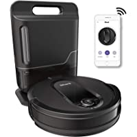 Shark IQ App-Controlled Self-Charging Robot Vacuum, RV100AE/UR1000SR - Black (Renewed)