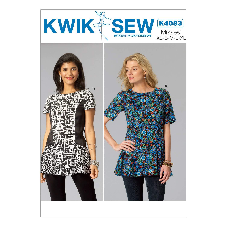 KWIK-SEW PATTERNS K4083 Misses' Tops, All Sizes by KWIK-SEW PATTERNS   B00OTHQSHO