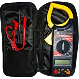 Alicate Amperímetro Digital com Estojo, Brasfort, 8559, Preto