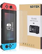 SDTEK *2 Pack Schutzglas für Nintendo Switch Panzerglas Glasfolie Hartglas Panzerfolie Tempered Glass Screen Protector Schutzfolie Displayschutzglas Nintendo Schalter