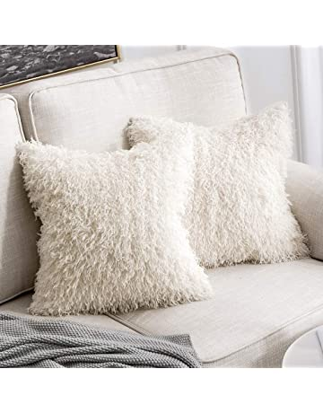 MIULEE Decorative New Luxury Series Style Faux Fur Throw Pillow Case  Cushion Cover for Sofa Bedroom cd7cb01ec