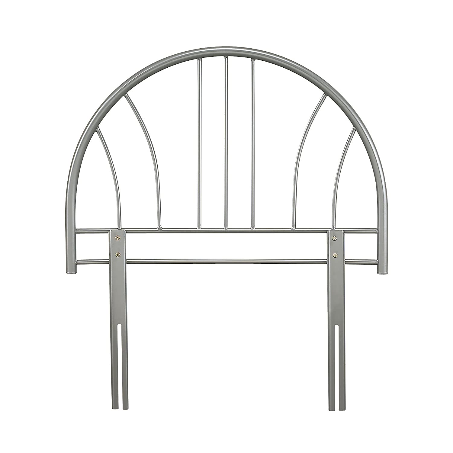 Metal Beds Collection by Serene Furnishings - Annabelle Metal Single Headboard - White colour W-90cm, H-65cm comes in 3 Colours SF Ltd
