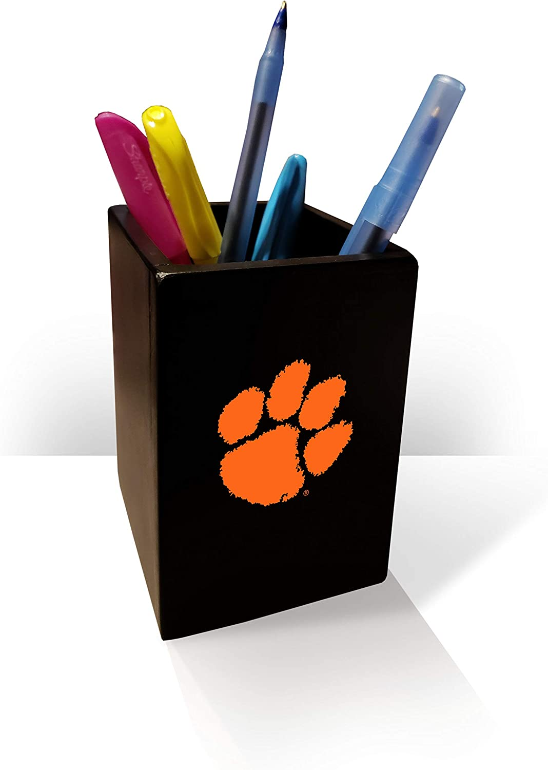 Fan Creations NCAA Clemson Tigers Pen/Pencil Holder