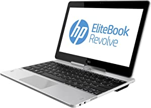 "HP EliteBook Revolve 810 G2 11.6"" Tablet PC Touchscreen Business Computer, Intel Core i5-4300U up to 2.9GHz, 8GB RAM, 128GB SSD, Bluetooth, USB 3.0, Windows 10 Professional (Renewed)"