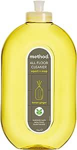 Method Squirt and Mop Hard Floor Cleaner, Lemon Ginger, 739ml