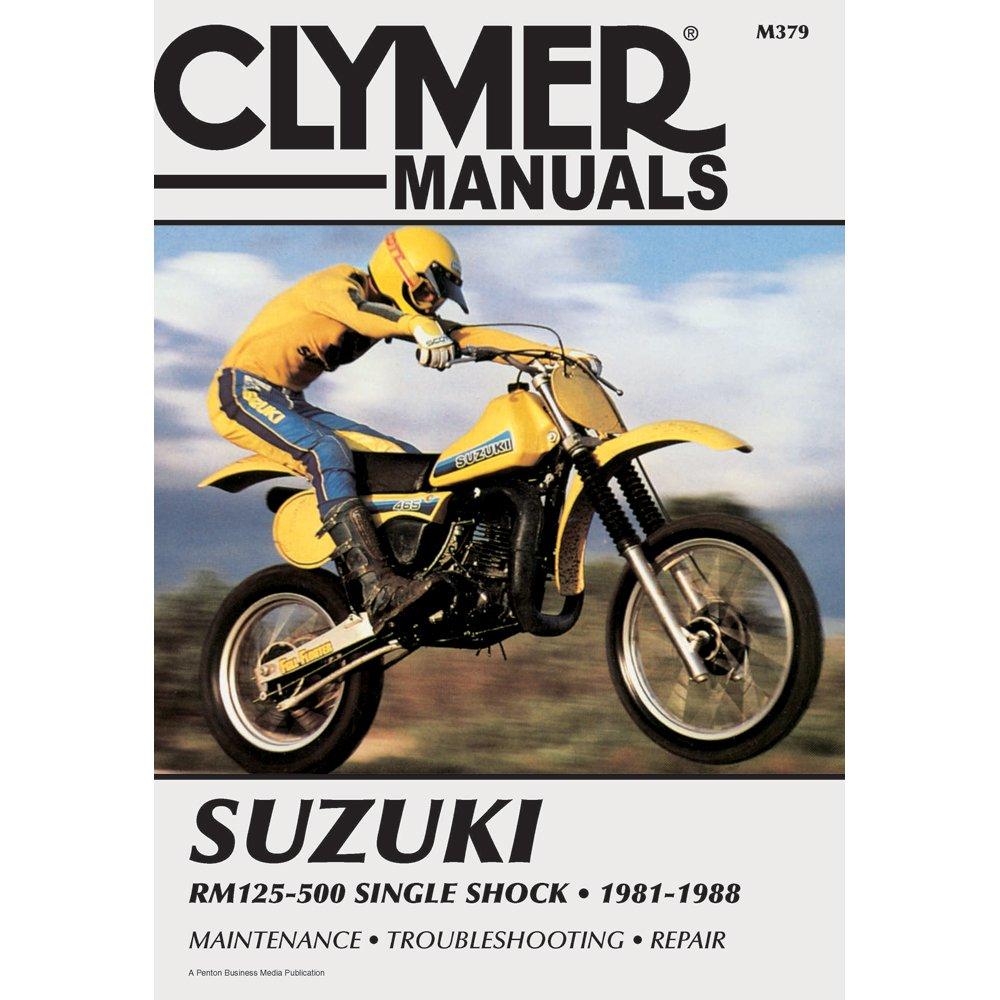 Amazon.com : 1 - Clymer Suzuki RM125-500 Single Shock (1981-1988) :  Everything Else