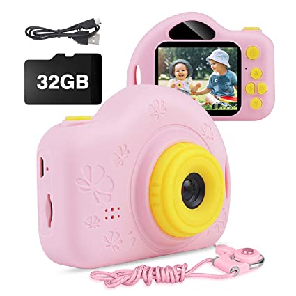 Amazon.com: AIMASON - Cámara de vídeo digital para niños de ...