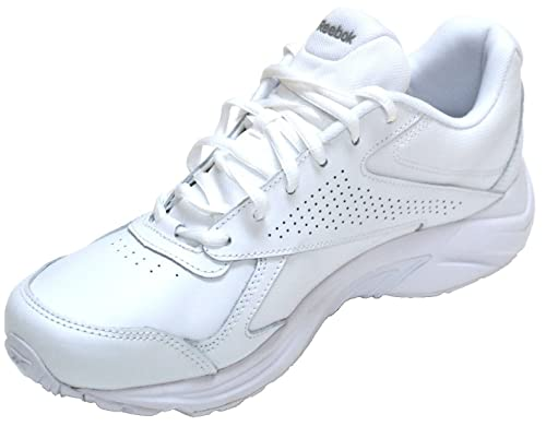 Reebok Mens Walk Ultra IV DMX Max Walking Shoe White