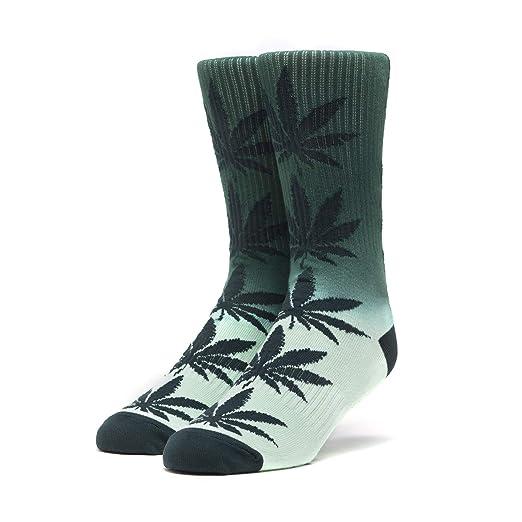 14514ef9925e5 Amazon.com: HUF Skateboard Socks Plantlife Gradient Wash Pondersoa ...