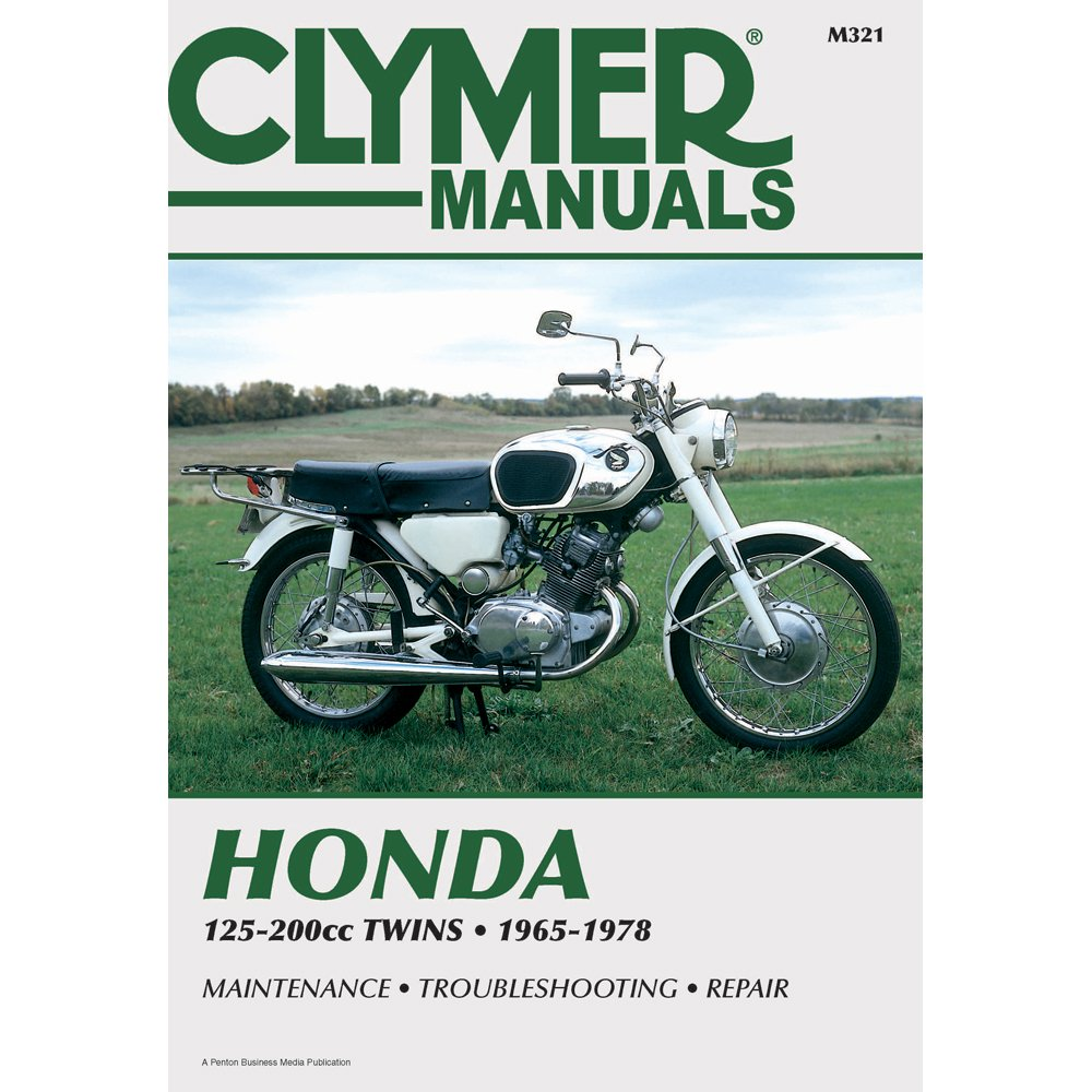 Amazon.com: Clymer Honda 125-200cc Twins (1965-1978): Home Audio & Theater