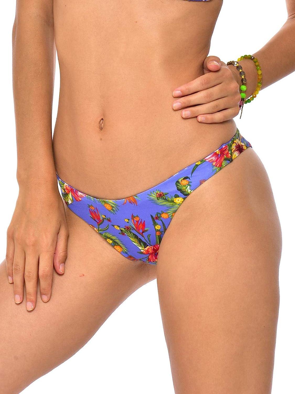Blu Pezzo sotto Bikini Pantaloni Classici PAEA Dolcevita Banana Moon