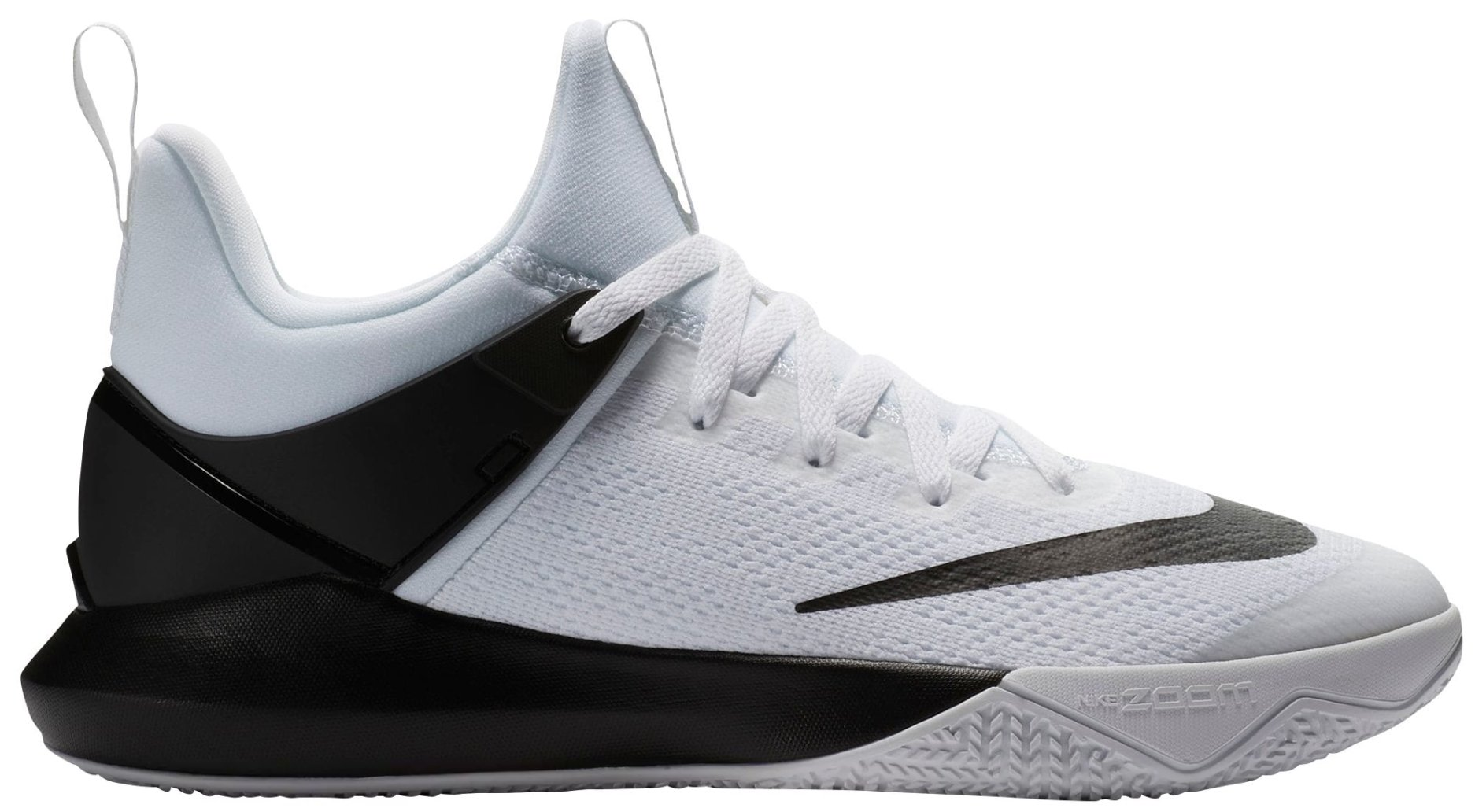 best sneakers 68e9a e5bc6 Galleon - NIKE Men s Zoom Shift Basketball Shoes US (7.5 M US, White Black)