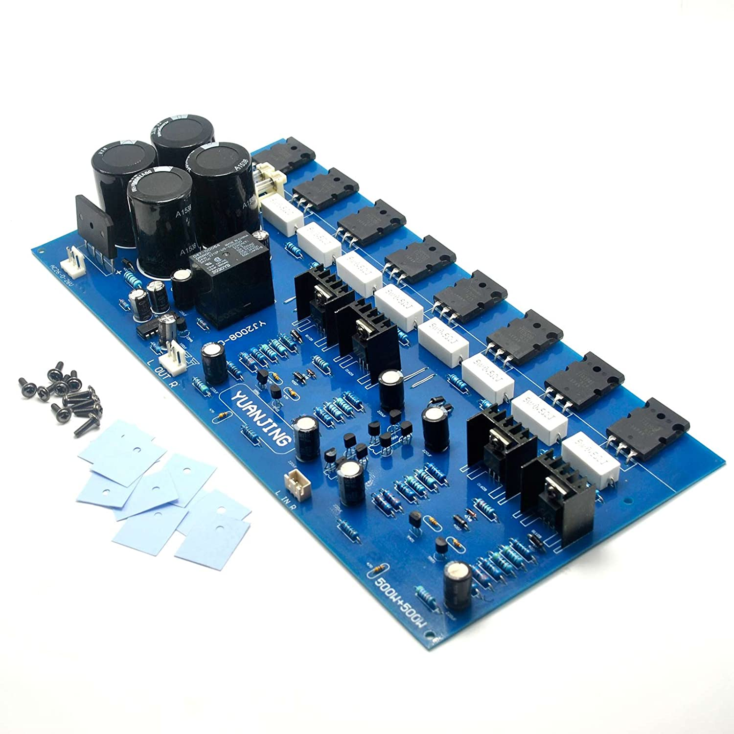 2sc5200 2sa1943 High Power Amplifier Board 400w Audio Schema And Layout Musical Instruments