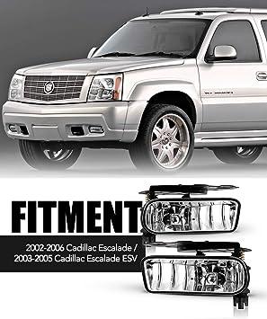 2002-2006 Cadillac Escalade OEM Left /& Right Fog Light Kit NEW