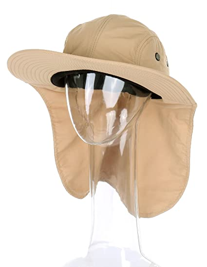 89e2e18c7b2 Amazon.com  RufnTop Unisex Cotton Outdoor Sun Hat for Hiking