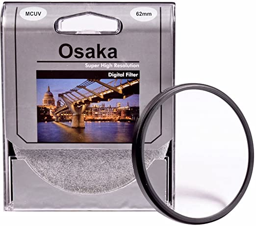 Osaka 62mm Multi Coated UV Filter MCUV 4 Layer Coating Skylight   UV Filters