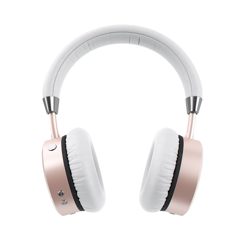 SATECHI Auriculares Inalámbricos Bluetooth de Aluminio con Bajos Mejorados Jack de Salida de Audio de 3.5mm para iPhone X/XS/XS MAX/XR/8+/8, Samsung Galaxy ...
