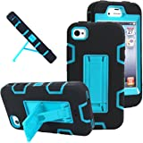 iPhone 4s case, iPhone 4 case, MagicSky Robot Series Hybrid Armored Case with Kickstand for Apple iPhone 4/4S...