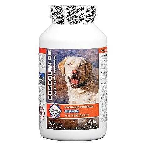 COSEQUIN Suplemento DS Plus Msm Salud común para los Perros ...