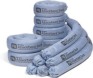 New Pig Sock   Absorbent Sock Absorbs 95 Ounces   3
