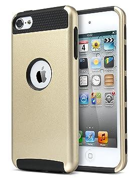 Carcasa iPod Touch 5/6, ULAK® iPod Touch 5/6 Funda Case Estilo 2-Pieza Cubierta de la caja a Prueba de Golpes Híbrido duro para Apple iPod touch 5/6 ...