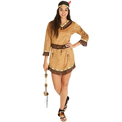 TecTake dressforfun Disfraz de India Apache para Mujer ...