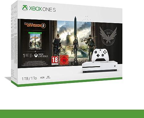Microsoft Xbox One S + Tom Clancys The Division 2 Blanco 1000 GB ...
