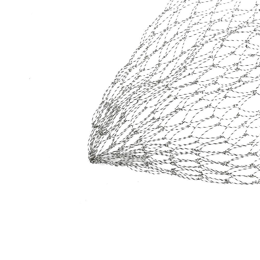 Filet Epuisette de P/êche R/éseaux Maille de Poissons Carpe Accessoires Remplacement de P/êche /à la Mouche Dia 40cm 60cm 50cm
