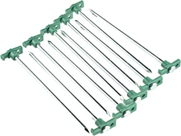 Top 10x Awning Tent Pegs Nails Sand Ground Stakes Outdoor Camping Heavy Duty