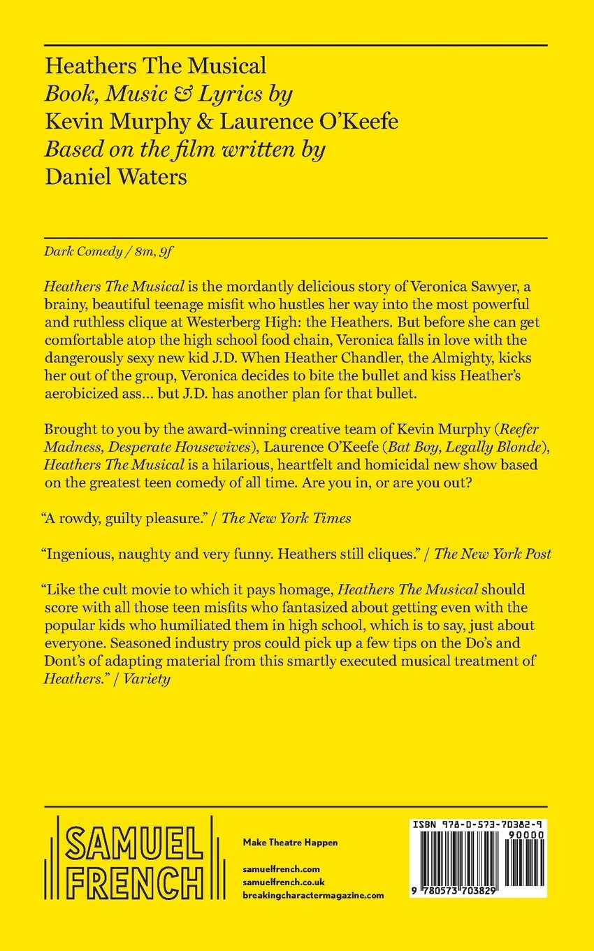 Heathers the Musical: Amazon co uk: Laurence O'Keefe, Kevin Murphy