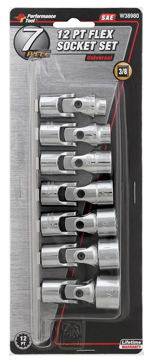 Performance Tool W30682 MET Ignition Wrench Set 10 Piece