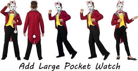 Fancy Dress World 49694 - Chaleco para Disfraz de Conejo Blanco ...