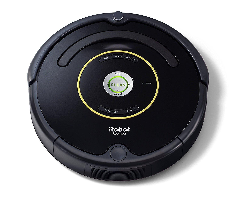 iRobot Roomba 650 Robot Aspirapolvere, Sistema di Pulizia ad Alte Prestazioni con Dirt Detect, Adatto a Pavimenti e Tappeti, Ottimo per i Peli Degli Animali Domestici, Programmabile, Nero product image