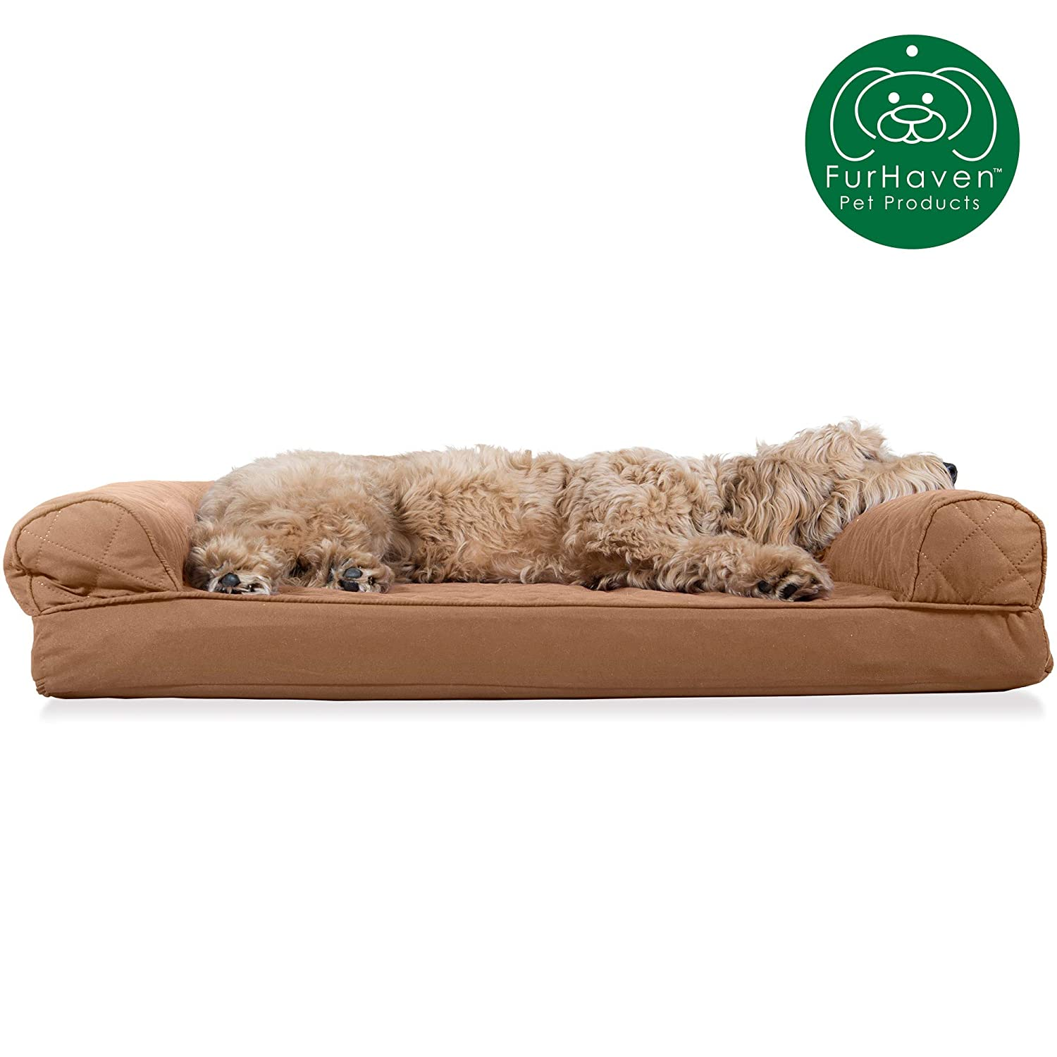 Groovy Furhaven Pet Dog Bed Orthopedic Sofa Style Traditional Living Room Couch Pet Bed W Removable Cover For Dogs Cats Available In Multiple Colors Short Links Chair Design For Home Short Linksinfo