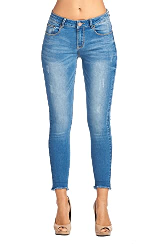 BLUE AGE Women's Butt-Lifting Skinny Jeans