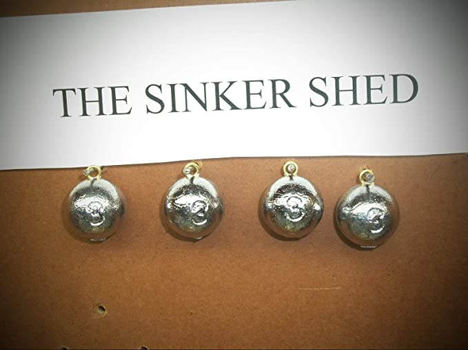 3lb assorted lot Walking Sinkers fishing weights