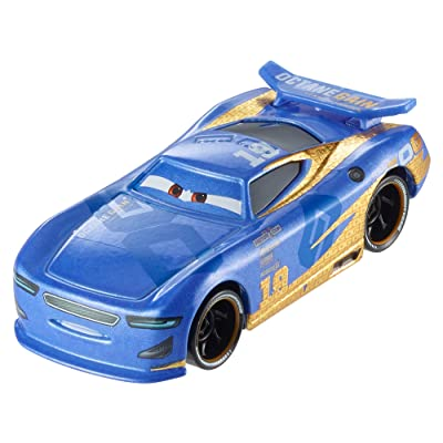 Disney Pixar Cars Die-Cast Next Gen Octane Gain #19 Carlos Racer Vehicle: Toys & Games