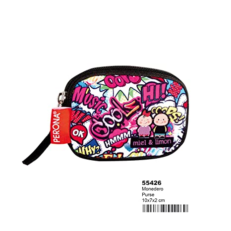 Amazon.com: Perona Miel38; Limon Kiss Me Purse: Office Products