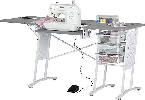 Mesa de máquina de coser Sew Ready W Pro Stitch: Amazon.es ...