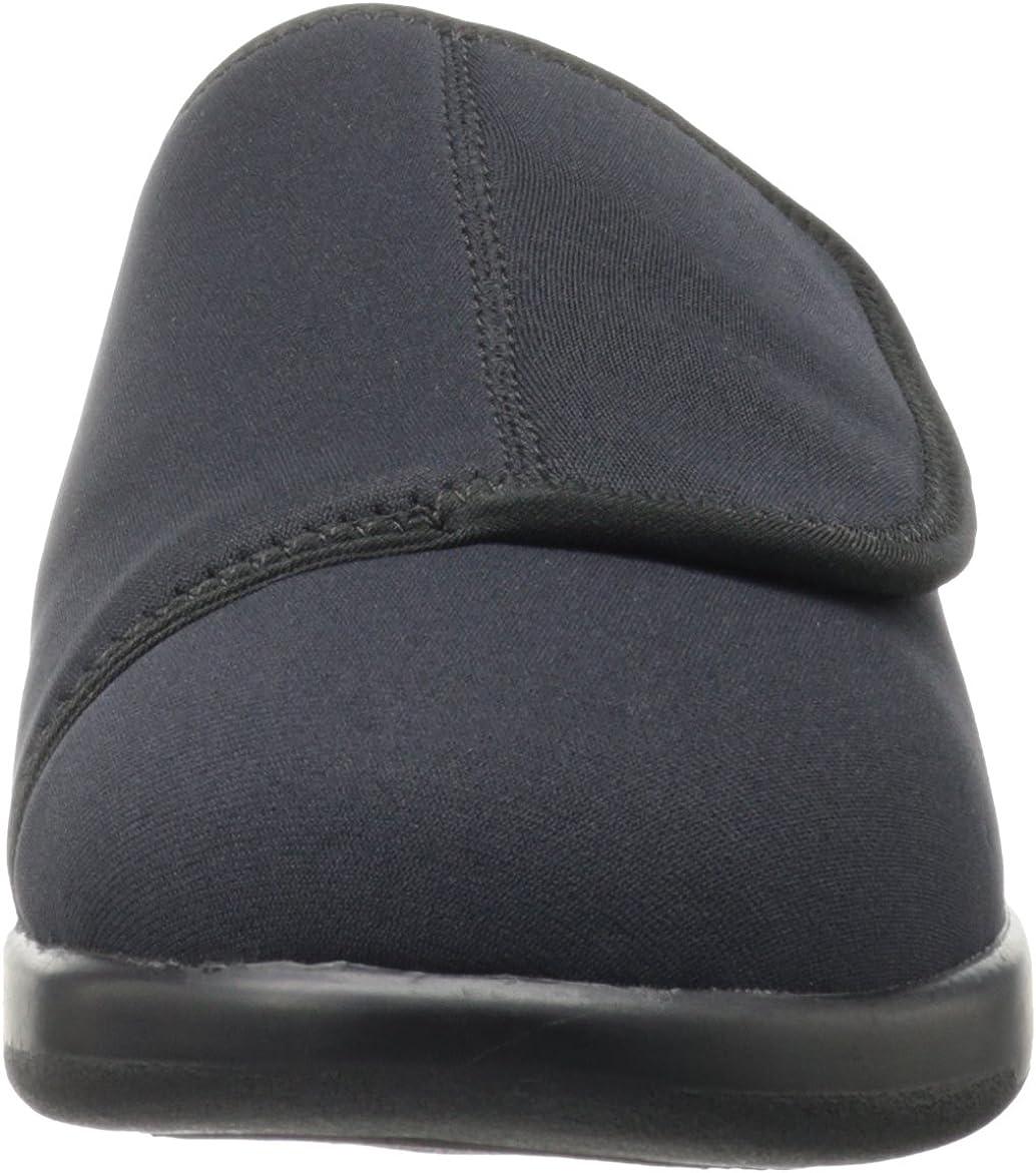 Propet Cush/'n Foot Slippers Black Mens