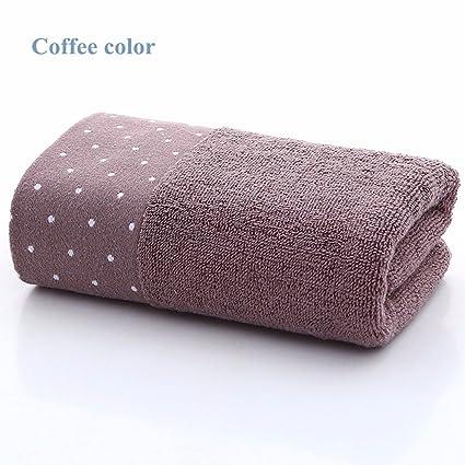 Toalla de algodón Suave (paquete de 2) absorbente Toalla de lavado a mano Toalla