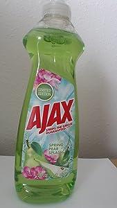 Ajax Dishwashing Liquid, Spring Pear Splash, 12.6 Ounce