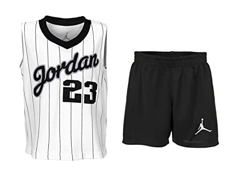ab4c94bf0fe Amazon.com: NIKE Baby Boys Jordan Two Piece Jersey & Shorts Set ...