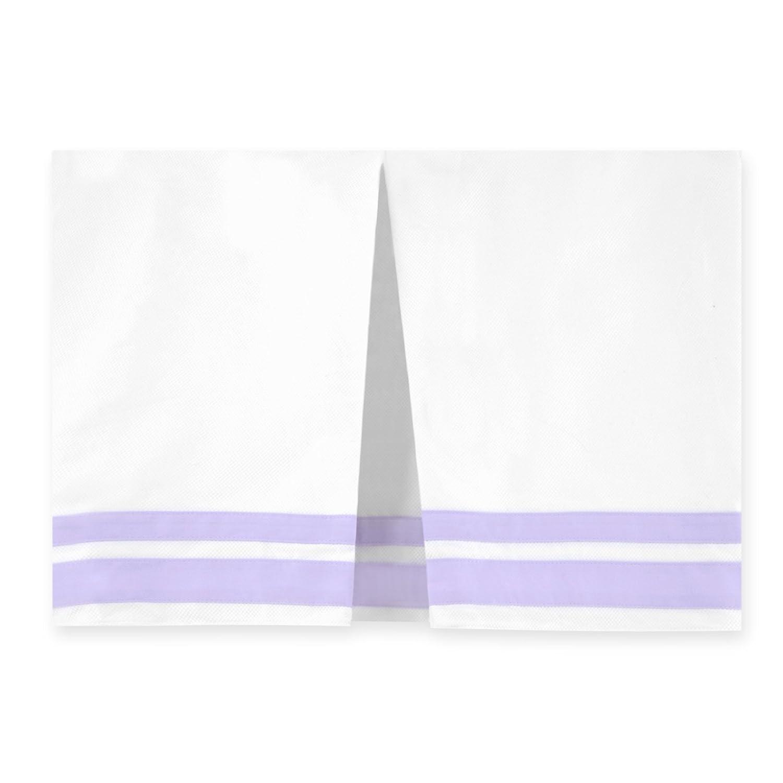 Just Born Classic Crib Skirt, Aqua Gerber Childrenswear 25506L